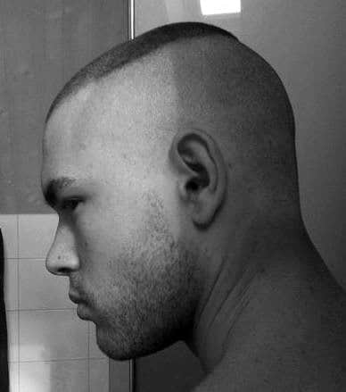 Short Length Mens Marine High And Tight Haircut