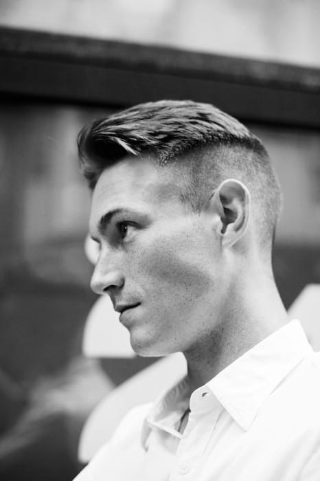 Short Length Mens Undercut Hair Ideas