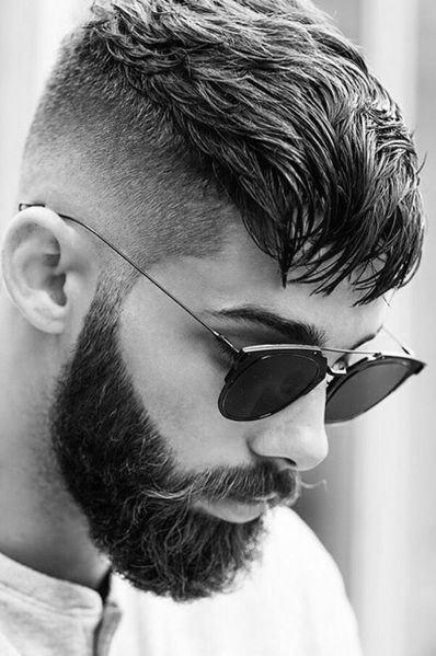 Short Length Mens Undercut Hairstyle