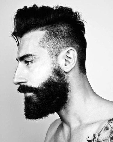 Short Length Side Part Hairstyles For Men