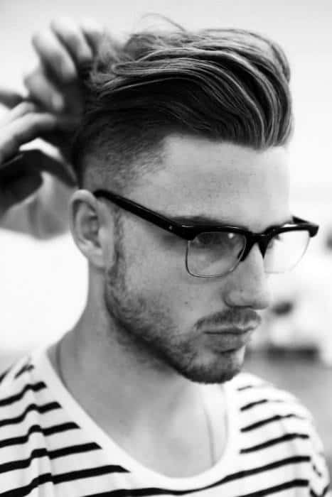 Pompadour Haircut Length : Pompadour haircut for men u2013 50 masculine hairstyles