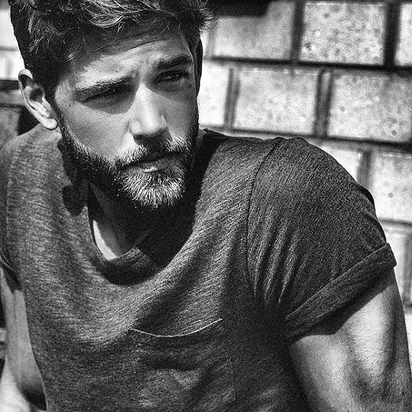Short Manly Guys Beard Styles