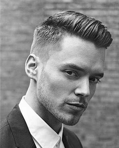 Short Professional Hairstyles For Men