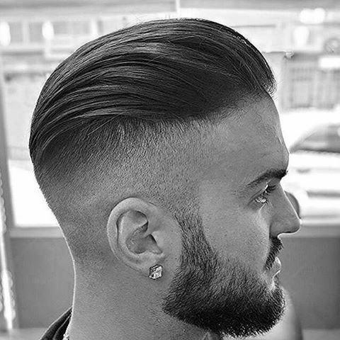 Short Slicked Back Hair For Guys