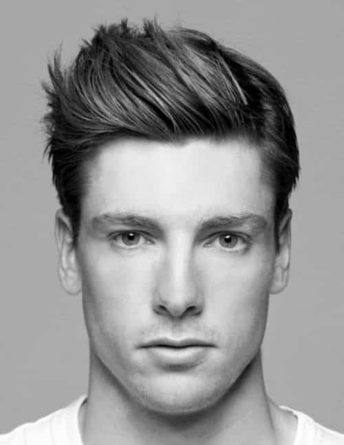 Short Spiky Men's Hairstyles