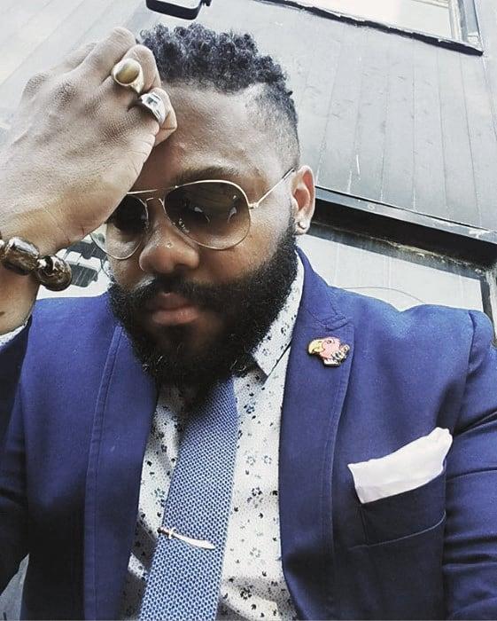 Short To Medium Black Mens Beard Style Ideas