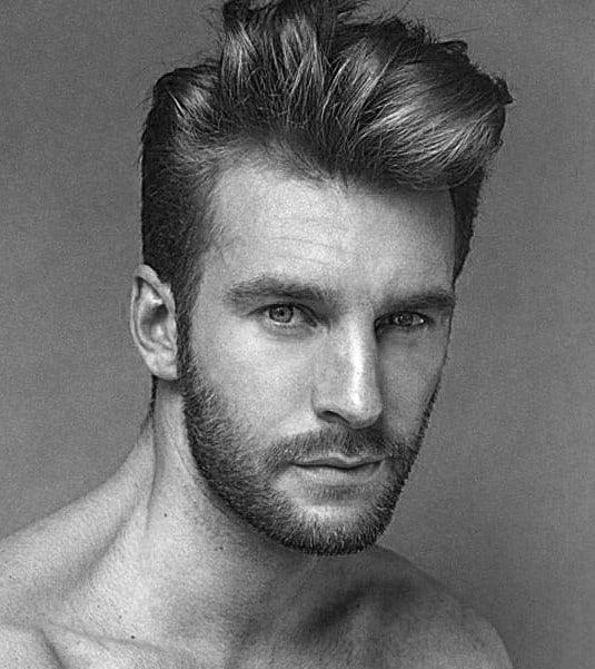 Short Wavy Hair Men