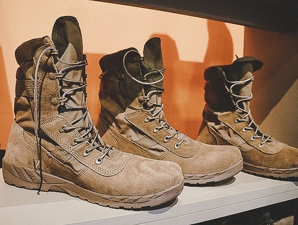 Shot Show 2019 Coyote Brown Mens Tactical Boots