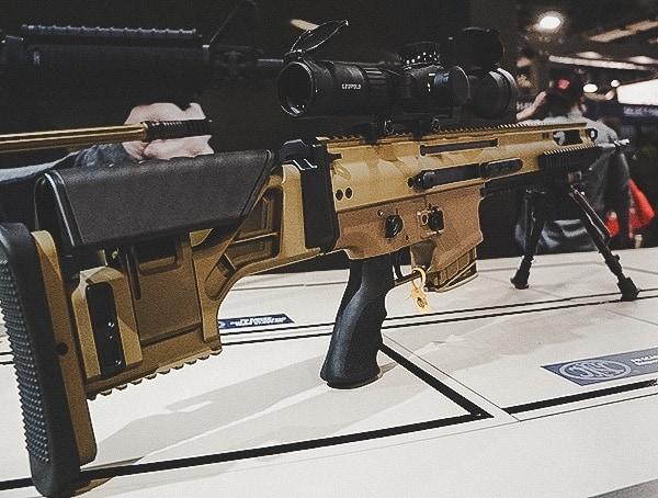 Shot Show 2019 Fn Booth Rifle
