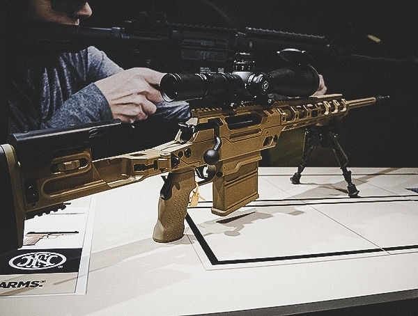 Shot Show 2019 Long Range Fn Booth Firearms