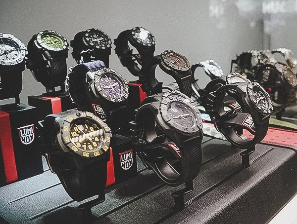 Shot Show 2019 Luminox Tactical Watches