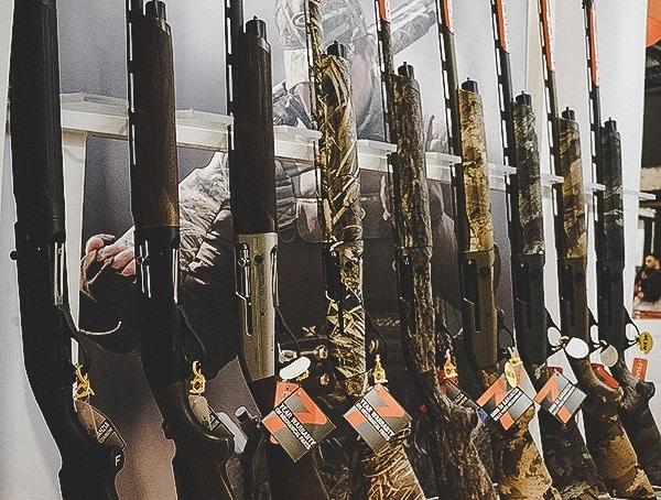 Shotgun Collection Wall Shot Show 2019