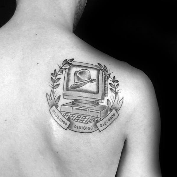 Shoulder Blade Guys Computer Tattoos
