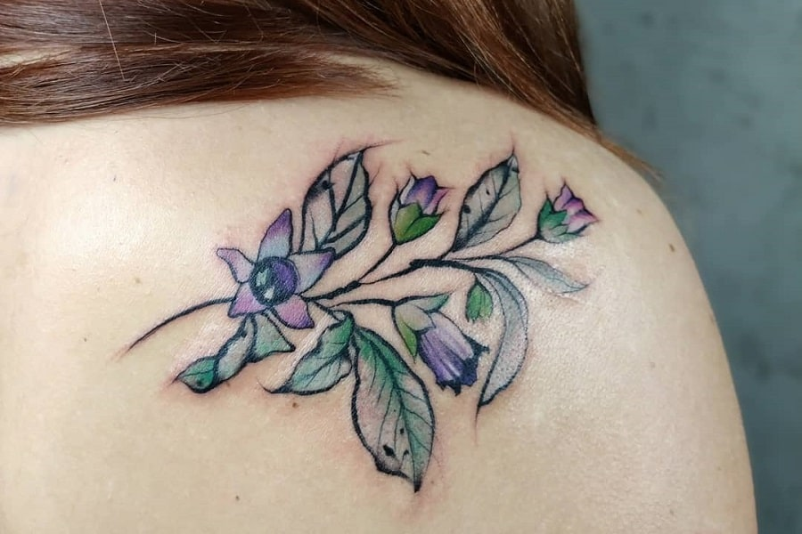Top 40+ Best Simple Flower Tattoo Ideas – [2021 Inspiration Guide]