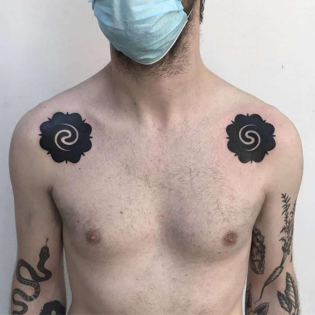 shoulder simple tribal tattoos setharcane