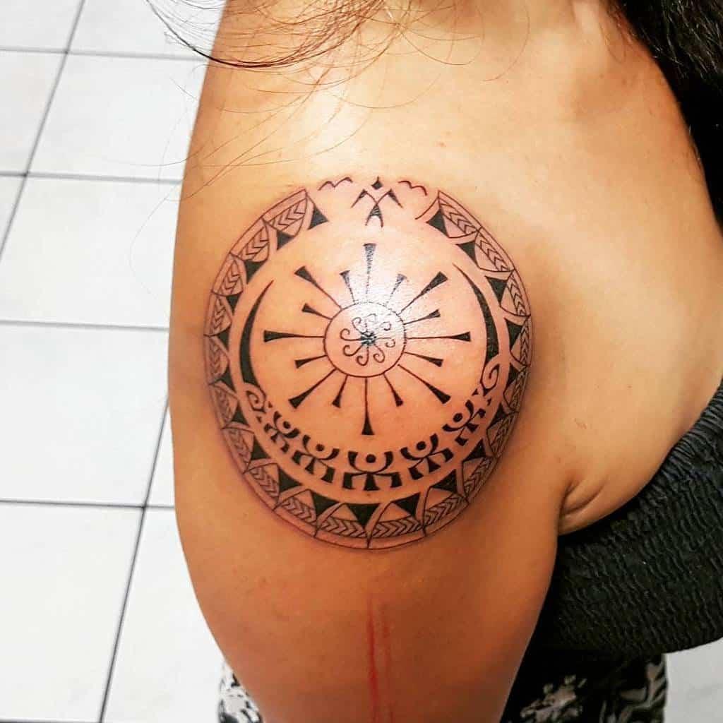 shoulder simple tribal tattoos tattoobypatu