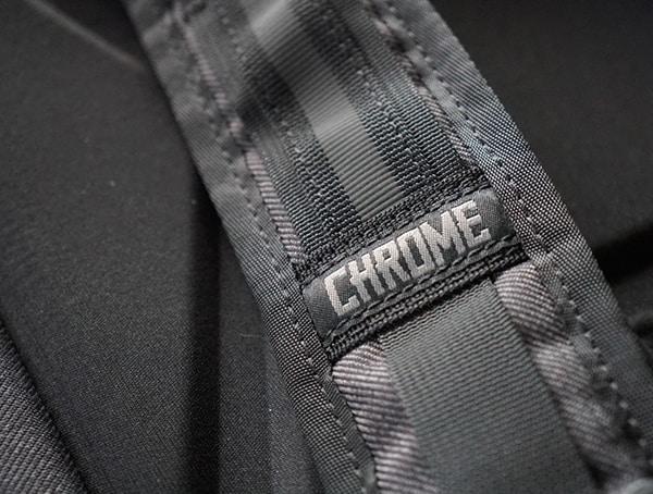 Shoulder Strap Detail Stiched Logo Chrome Industries Summoner Backpack