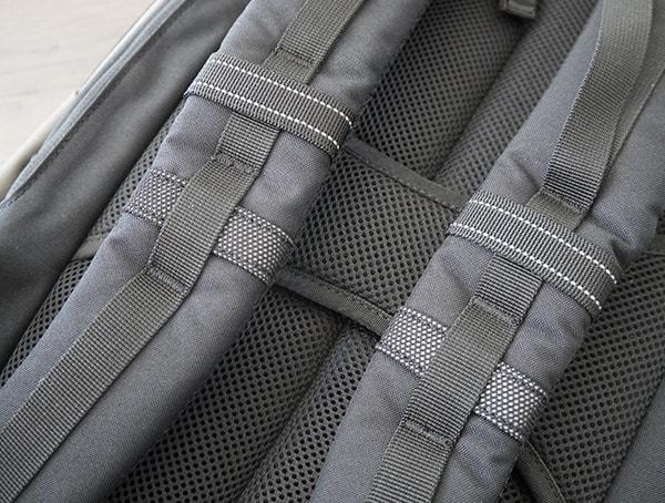 Shoulder Strap Detail With Reflective Lines Ogio Alpha Convoy 525 Backpack