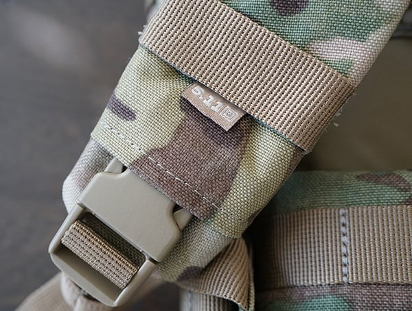 Shoulder Straps Detail With Buckle 5 11 Tactical Rush72 Backpack
