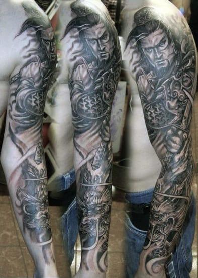 Shoulder Tattoo Designs For Men