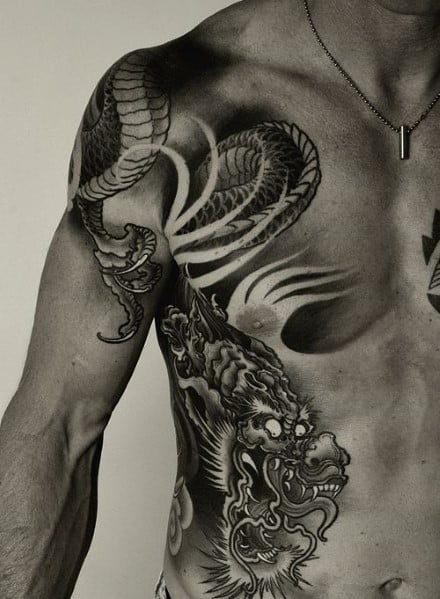 Shoulder Tattoos For Men Inspiration
