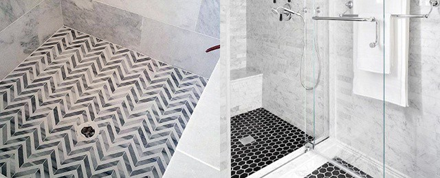 Top 50 Best Shower Floor Tile Ideas Bathroom Flooring Designs
