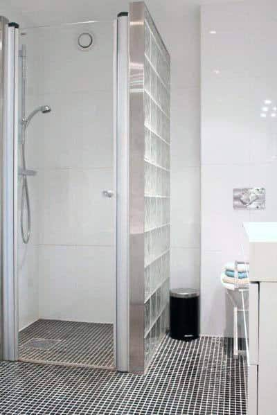 Shower Good Ideas For Glass Block