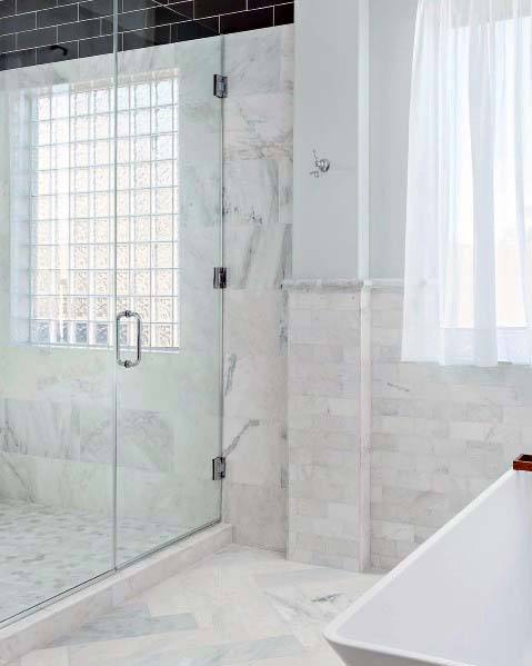 Shower House Glass Block Ideas