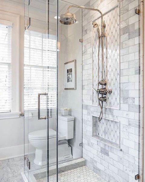 glass shower small shower ideas