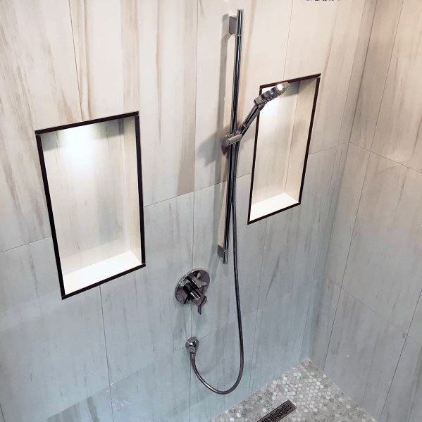 Shower Led Shelf Lighting Home Designs