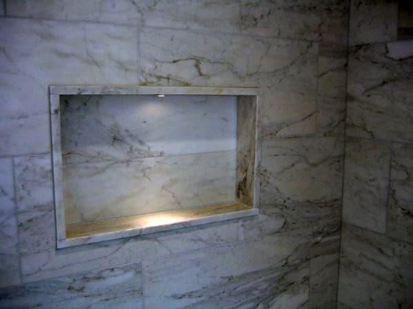 Shower Lighting Accent Led Niche Shelf