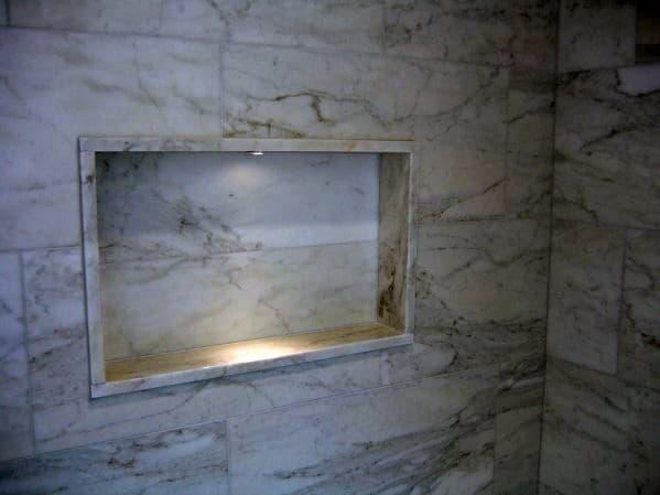 Shower Lighting Accent Led Niche Shelf