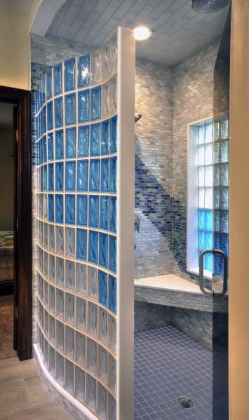 Shower Wall Glass Block Design Inspiration
