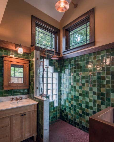 Shower Wall Window Idea Inspiration Glass Block Designs