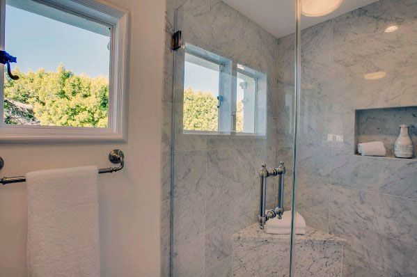 Shower Window Cool Interior Ideas