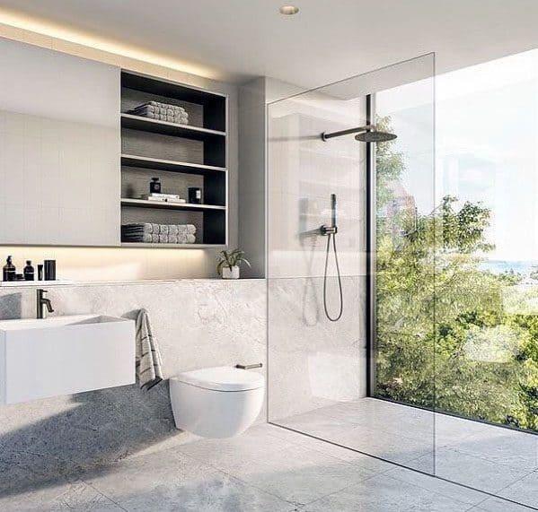 Shower Window Home Designs