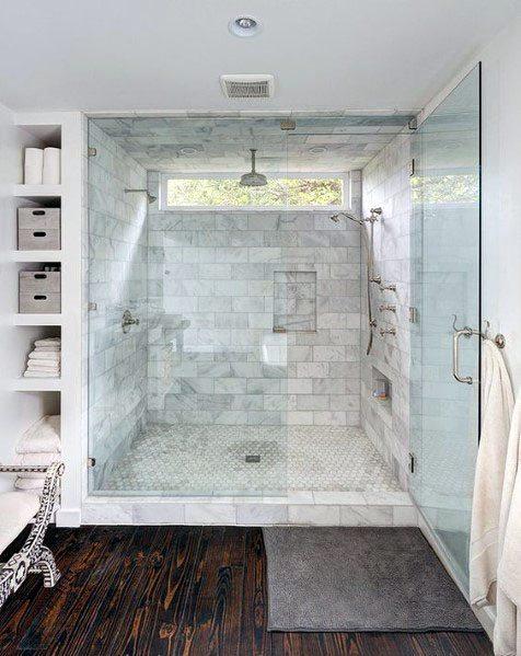 Shower Window Interior Design