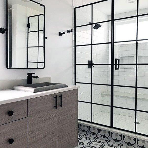 Shower Window Interior Ideas