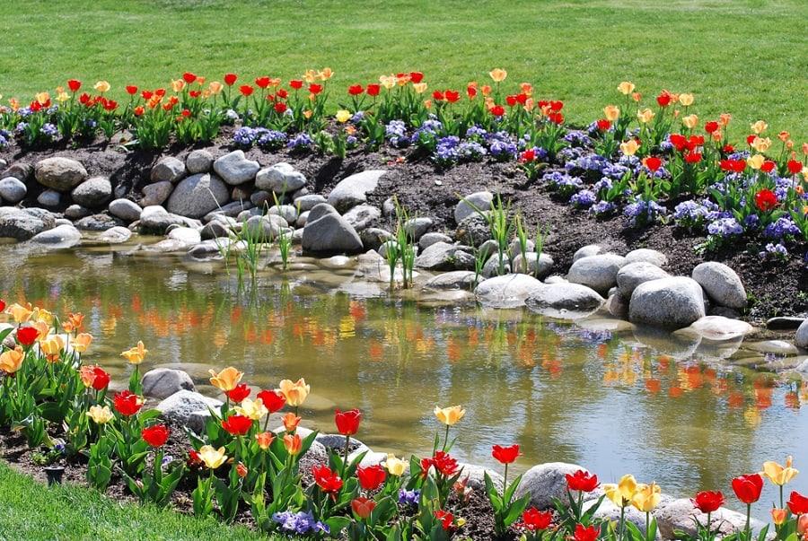 Front Yard Rock Landscape Ideas