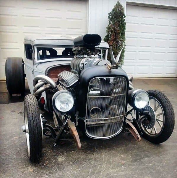 Sick Badass Rat Rods