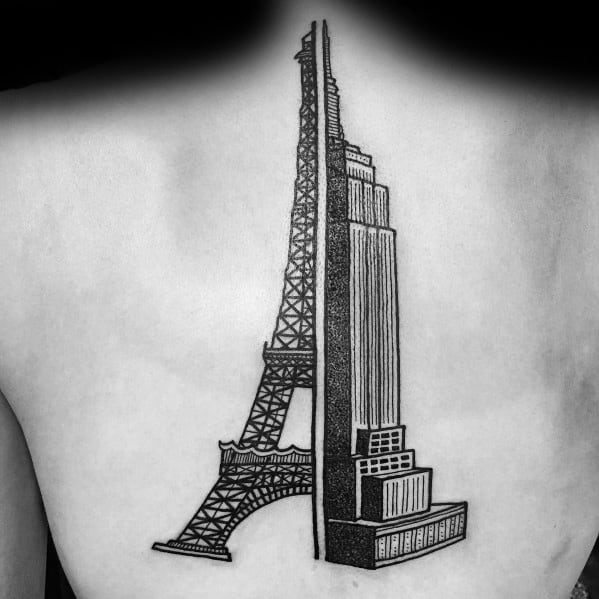 Sick Guys Empire State Building Themed Tattoos