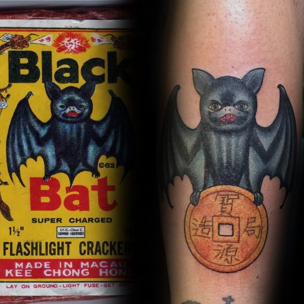 Sick Guys Fireworks Themed Tattoos