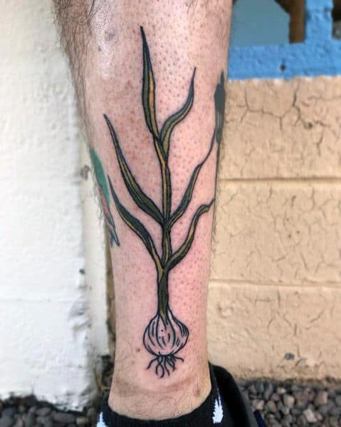 Sick Guys Garlic Themed Tattoos