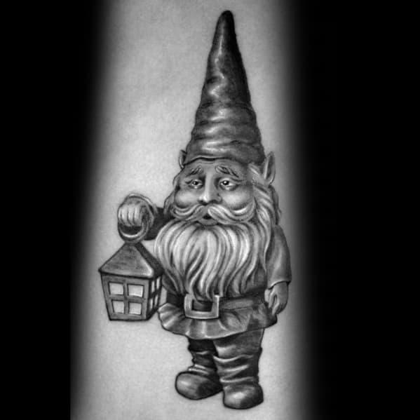 Sick Guys Gnome Themed Tattoos