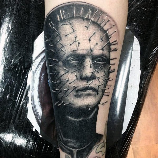 Sick Guys Hellraiser Themed Tattoos
