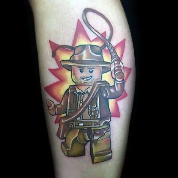 Sick Guys Indiana Jones Themed Tattoos