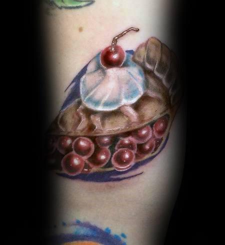 Sick Guys Pie Themed Tattoos