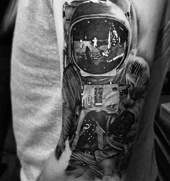 Sick Guys Reflection Themed Tattoos