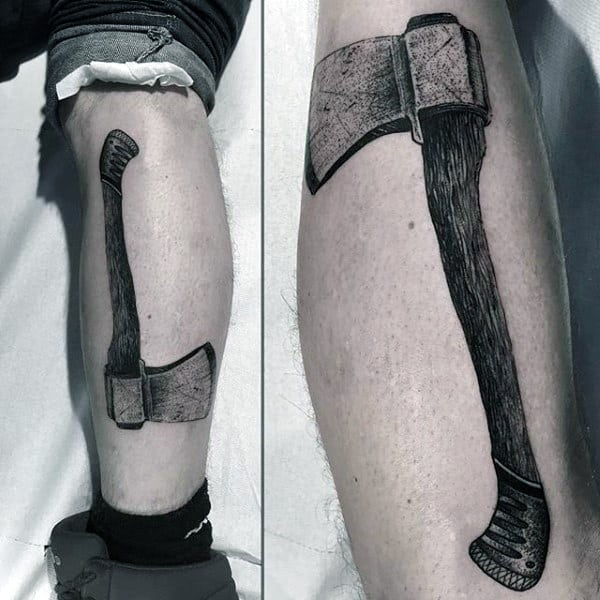 Sick Hammer Tattoo Male Forearm