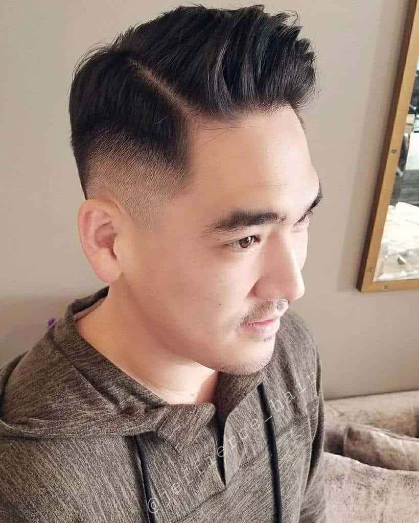 Side Comb Hair Cut